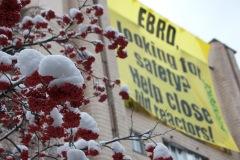 Акція Грінпіс під київським офісом ЄБРР з вимогою не фінансувати старі українські реактори