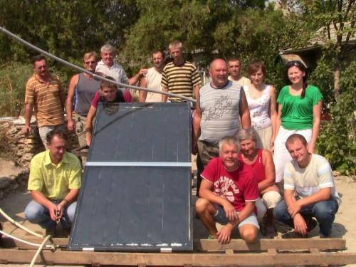 У 2011 році розпочато чотирирічний проект «Увімкни сонце – живи комфортно»