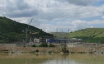 Стан будівництва ДГАЕС у серпні 2008