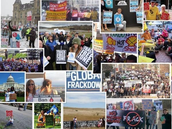 Міжнародний день проти видобутку сланцевого газу